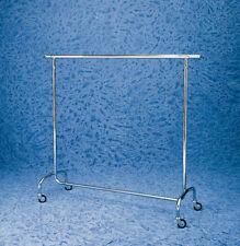 Stender appendiabiti fisso L 100cm bianco o argento con barra cromata