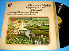 STEREO LP NONESUCH H-71287 RAFF LENORE SYMPHONY No. 5 HERRMANN HEAR SAMPLE