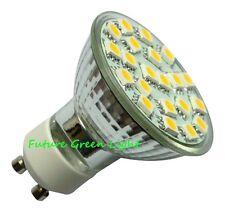 GU10 21 SMD LED 240V 2.6W 310LM WHITE BULB ~50W