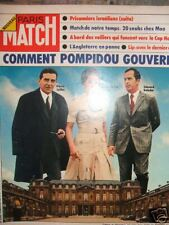 PARIS MATCH 1289 (01/74)Pompidou,gisèle Halimi