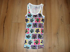 ARIZONA JEAN COMPANY MULTI COLOUR LADIES TANK TOP SIZE UK 10 BNWOT 100% COTTON