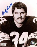 Autographed 8x10 photo NFL Steelers Andy Russell  w/COA LQQK