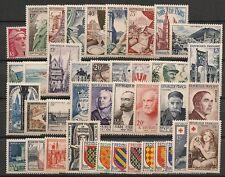 PROMOTION SUR ANNEE COMPLETE NEUVE XX 1954 TIMBRES LUXE - COTE 323 EUROS