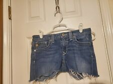 Big Star Size 26 Cut Off Jean Shorts
