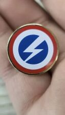 British Union Of Fascists BUF Oswald Mosley Repro Metal Enamel Pin Badge 25mm