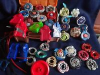 Beyblade Metal Fury With Carrying Case Mixed Lot