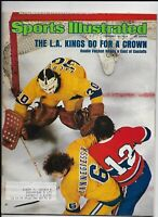 A Sports Illustrated Magazine ~ February 10 1975 ~ Rogie Vachon L.A. Kings NHL