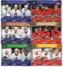 FINISH YOUR SET. MCDONALDS HOCKEY CARDS 2007-08 - PICK 3 CARDS