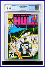 Incredible Hulk #395 CGC Graded 9.6 Marvel July 1992 White Pages Comic Book