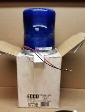 New ECCO Super Duty 6770 Blue Strobe Light Beacon 12-24VDC