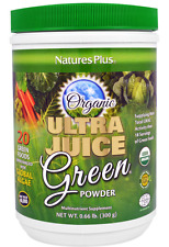 NEW NATURE'S PLUS ULTRA JUICE GREEN POWDER MULTINUTRIENT SUPPLEMENT DAILY CARE