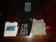 4 Youth Boy's Nike T-Shirts Size Xl *Tank Top, Long Sleeve, Short Sleeve Nwt
