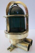 Vintage Marine Brass Passage Light / Lamp – Ship'S 100% Original (232)