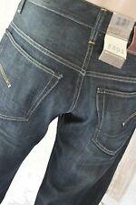 * G-Star 3301 ORIGINALE JEANS UOMO Pantaloni Walker denim loose fit w31 l34 NUOVO *