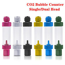 Aquarium CO2 Bubble Counter Check Valve-Regulator Diffuser Atomizer Reactor