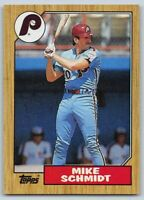 1987  MIKE SCHMIDT - Topps Baseball Card # 430 - PHILADELPHIA  PHILLIES