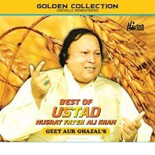 BEST OF NUSRAT FATEH ALI KHAN - GEET AUR GHAZALS - 3CD'S SET