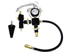3 pc Vacuum Type Cooling System Radiator Refill Test Cap Adapter Tool Kit