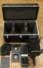 Calumet Cambo Monorail with Travel Case, Lensboard & Accessories Lot Bundle