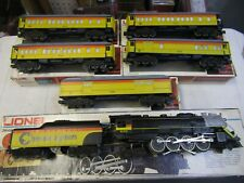 LIONEL 8003 CHESSIE STEAM SPECIAL BERKSHIRE and 5 PASSENGER CARS 1980 OGA 3 RAIL
