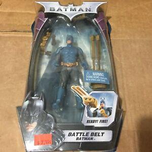 Mattel Battle Belt Batman Action Figure P4480 The Dark Knight New And Sealed!