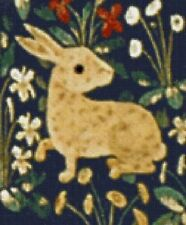 Cluny Tapestry Rabbit - Scarlet Quince Fine Art Counted Cross Stitch Chart