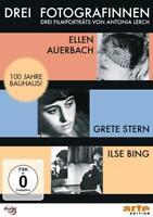 DREI FOTOGRAFINNEN: ILSE BING,GRETE STERN,ELLEN AUERBACH-LERCH,ANTONIA  DVD NEU