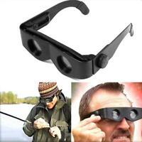 Portable Fishing Telescope Glasses Style Binoculars Magnifier Adjustable-Eyewear
