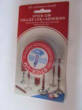 Stick-Um Candle Adhesive Fox Run 1/2 oz.  #3100 NEW