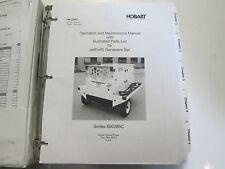 Hobart JetEx5D Series 500285C Generator Operation and Maintenance Parts Manual