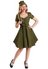 Corporal Cutie Ladies Fancy Dress Military Army Uniform Womens Adults Costume