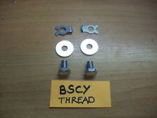 BSA A65 A50 B25 B44 Front Mudguard Mounting Brkt Screw / Washer & Tab Washer Set