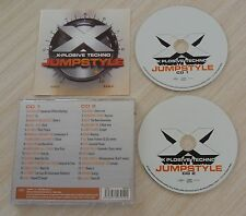 RARE 2 CD ALBUM JUMPSTYLE 30 TITRES X PLOSIVE TECHNO