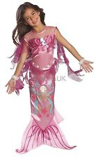 Kids Pink Mermaid Dress Up Fancy Dress Costume Outfit Age 12 - 24 Months P9248