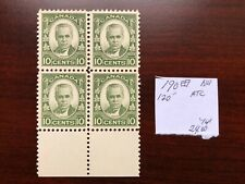 Canada 1931 Scott #190 Margin Block of 4 Cartier Issue Mint VFNH