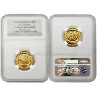 Mexico 1996 Sacerdote 25 Pesos 1/4 oz Gold NGC PF68 ULTRA CAMEO