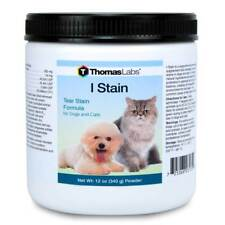 Thomas Labs I Stain Powder 12 oz Treats Eye Stains in Dogs and Cats