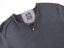 p5104 Superdry pull pull haut original Premium Henley Gris SD TOKYO Taille L