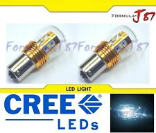 LED Light 25W 1156 White 6000K Two Bulbs Front Turn Signal Replacement Lamp JDM