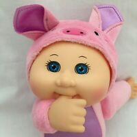 CPK Cabbage Patch Kids Baby Doll Barnyard Pig Costume Pink Plush 10 inch