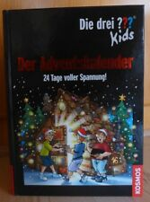 Die drei Fragezeichen ??? Kids Adventskalender 24 Tage voller Spannung! !!