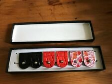 More details for holden leathergoods 6 cable tidy boxed gift set stocking filler -made in ireland