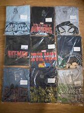 Lot Of 9 Funko POP! T-Shirts BRAND NEW FREE SHIPPING  Batman Ant-man Star Wars
