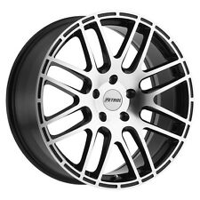 19 inch 19x8 PETROL P6A Gloss Black wheel rim 5x4.49 5x114 +40
