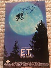 Steven Spielberg Autograph E.T. The Extra-Terrestial Photo JSA COA