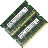 Memory RAM Laptop 4GB 2x2GB DDR3 PC3 10600 1333 MHz 204 Pin SODIMM Non ECC