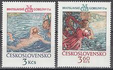 CSSR / Ceskoslovensko Nr. 2265-2266** Wandteppische aus Bratislava