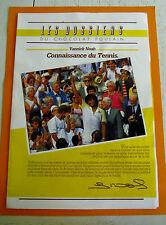ALBUM PHOTOS CHROMOS CHOCOLAT POULAIN 1986 CONNAISSANCE DU TENNIS SERIE 38