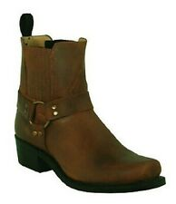 Boots Boulet 3010 End Square Wide Brown Made IN Canada