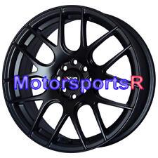 17 XXR 530 Flat Black Concave Rims Wheels 4x114.3 93 97 98 02 Honda Accord EX SE